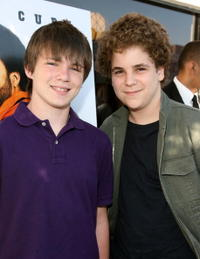 Miles Chandler and Alan Aisenberg at the premiere of