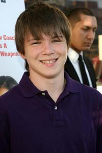 Miles Chandler at the premiere of