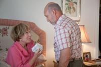 Shirley Maclaine as Estelle and Hector Elizondo as Edgar in