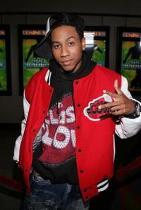 Brandon T. Jackson at the premiere of