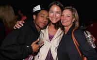 Brandon T. Jackson, Maria Faillace and Elizabeth Gabler at the after party of the premiere of
