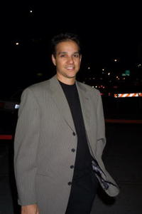 Ralph Macchio at the New York Stage and Film Benefit Gala honoring Aaron Sorkin and Jane Harmon on Sunday.