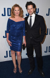 Virginia Madsen and Danny Huston at the New York premiere of