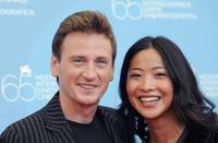 Benoit Magimel and Lika Minamoto at the photocall of