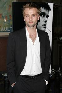 Joe Anderson at the premiere of