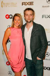 Kirsten Lea and Joe Anderson at the opening night of 8th Annual Beverly Hills Film Festival.