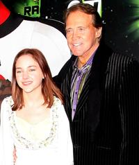 Haley Ramm and Lee Majors at the UK premiere of