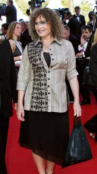 Valerie Mairesse at the screening of