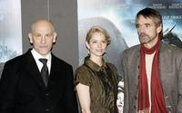 John Malkovich, Sienna Guillory and Jeremy Irons at the world premiere of