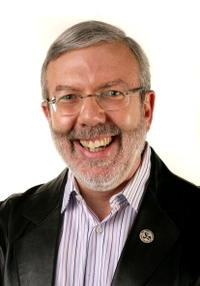 Leonard Maltin at the 11th annual City Of Lights, City of Angels French Film Festival.