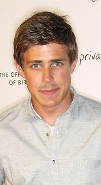 Chris Lowell at the ABC's