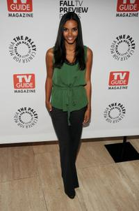 Jessica Lucas at the PaleyFest and TV Guide Magazine's The CW Fall TV Preview Party.
