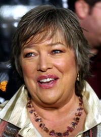 Kathy Bates at the premiere of