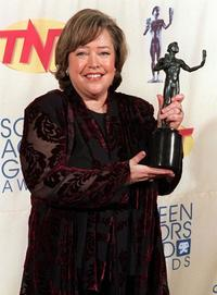 Kathy Bate at the fifth Annual Screen Actors Guild Awards.
