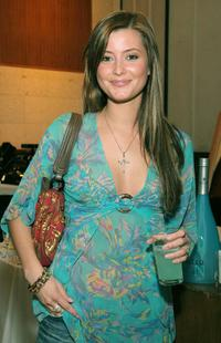 Holly Valance at the Third Annual Grammy Style Studio.