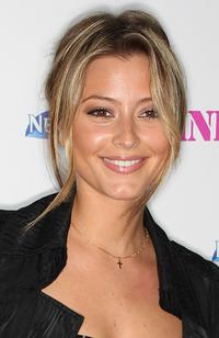 Holly Valance at the Pink is the New Blog Relaunch party.