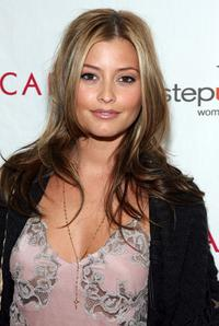 Holly Valance at the Step Up Women's Network toast with Escada and Jessica Alba.