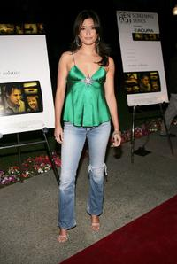 Holly Valance at the premiere of