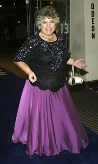 Miriam Margolyes at the Cinema and Television Benevolent Fund (CTBF) Royal Film Performance annual charity screening this year of