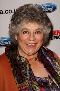 Miriam Margolyes at the premiere of