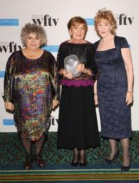 Miriam Margolyes, Moira Armstrong and Patricia Hodge at the Women In Film And TV Awards.