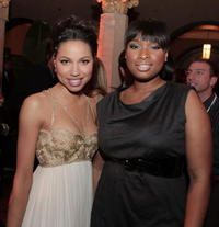 Jurnee Smollett and Jennifer Hudson at the after party of the premiere of