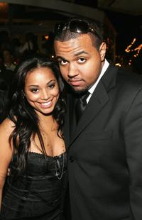 Daniel Williams and Lauren London at the premiere of