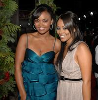 Sharon Leal and Lauren London at the premiere of