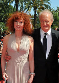 Sabine Azema and Andre Dussolier at the premiere of