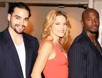 Ramon Rodriguez, Victoria Pratt and Taye Diggs at the premiere screening of