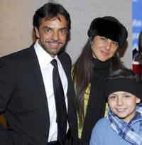 Eugenio Derbez, Kate del Castillo and Adrian Alonso at the after party of