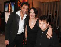 Eugenio Derbez, Patricia Riggen and Adrian Alonso at the special screening of