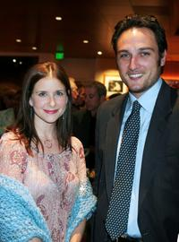 Kellie Martin and Alex A. Quinn at the Women In Film and Hallmark Channel Reception honoring Dr. Maya Angelou.