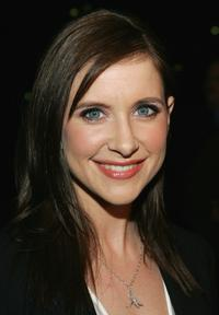 Kellie Martin at the Hallmark Channel's TCA Press Tour party.