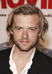 Adam Campbell at the screening of