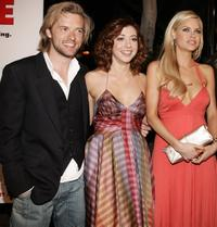 Adam Campbell, Alyson Hannigan and Sophie Monk at the screening of
