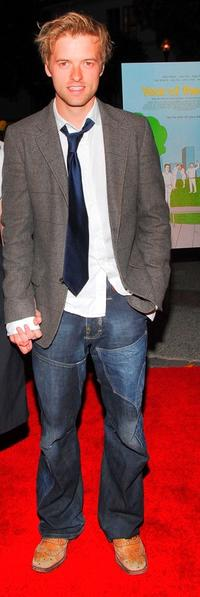 Adam Campbell at the LA premiere of