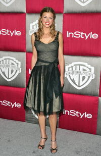 Adrianne Palicki at the 66th Annual Golden Globe Awards.