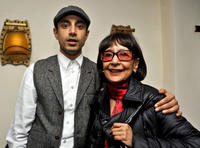 Rizwan Ahmed and Guest at the premiere of