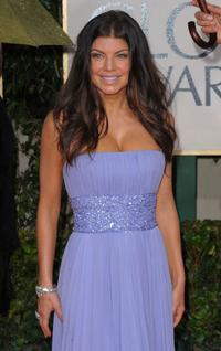 Fergie at the 67th Annual Golden Globe Awards.