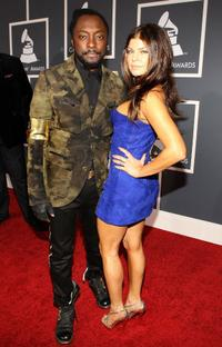 Will.i.am and Fergie at the 52nd Annual Grammy Awards.