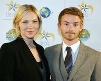 Laura Prepon and Christopher Kennedy Masterson at the Project Restart and New York Rescue Workers Detoxification Project.