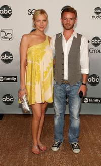 Laura Prepon and Christopher Kennedy Masterson at the 2007 ABC All Star party.