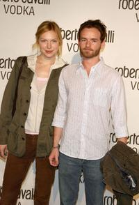 Laura Prepon and Christopher Kennedy Masterson at the U.S. launch Of Roberto Cavalli Vodka.