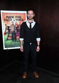 Christopher Kennedy Masterson at the premiere of