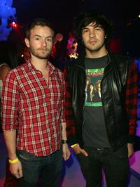 Christopher Kennedy Masterson and Jordan Masterson at the premiere of