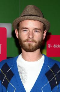 Christopher Kennedy Masterson at the Launch party for the new T-Mobile G1 telephone.