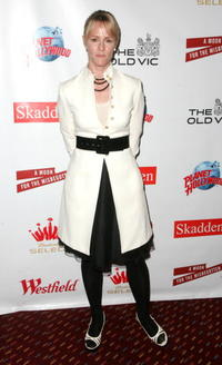 Mary Stuart Masterson at the benefit evening for London's famed Old Vic Theatre.