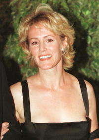 Mary Stuart Masterson at the White House for a state dinner.