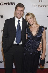 Mary Stuart Masterson and Jeremy Davidson at the opening celebration gala for the newly renovated Geffen Playhouse.
